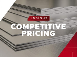 Competitive pricing steel industry